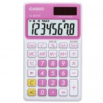 Calculatrice Casio SL-300NC rose