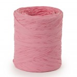 Raphia pastel rose en 15mm x 200m
